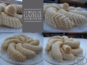 Cornes de gazelle mankouche