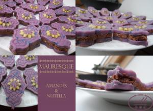Mauresque amandes et Nutella