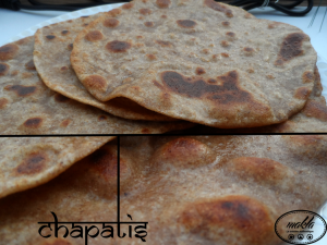 Chapatis – Galettes traditionnelles indo-pakistanaises