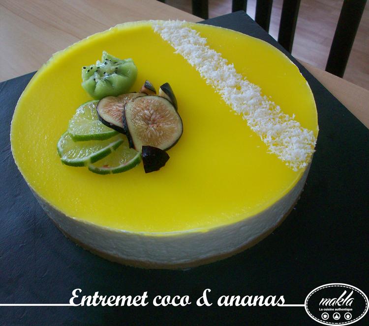 Entremet | Coco – Ananas