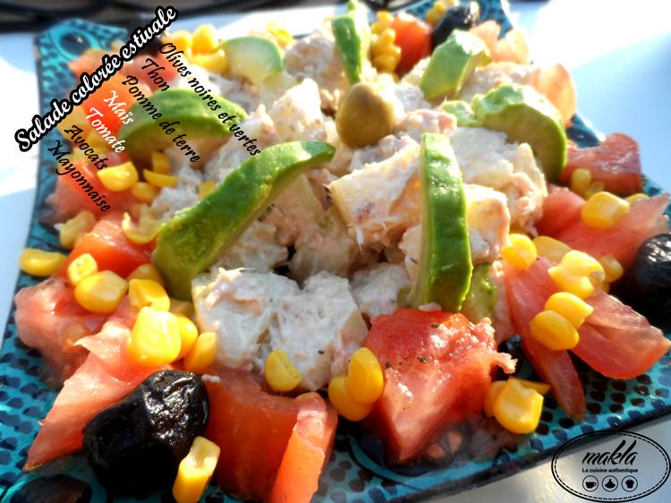 Read more about the article Salade colorée estivale