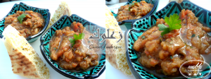 Zaâlouk – Caviar d'aubergine à la marocaine