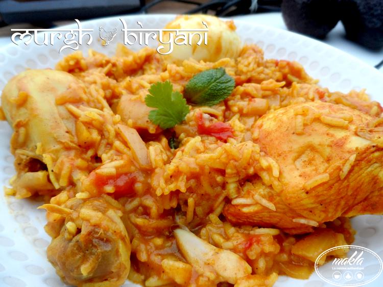Read more about the article Murgh biryani – Biryani de poulet