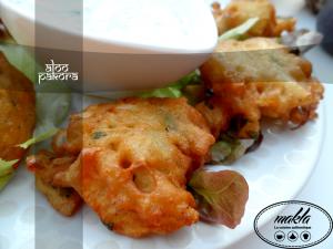 Read more about the article Aloo pakora – Beignets de pomme de terre et oignon pakistanais