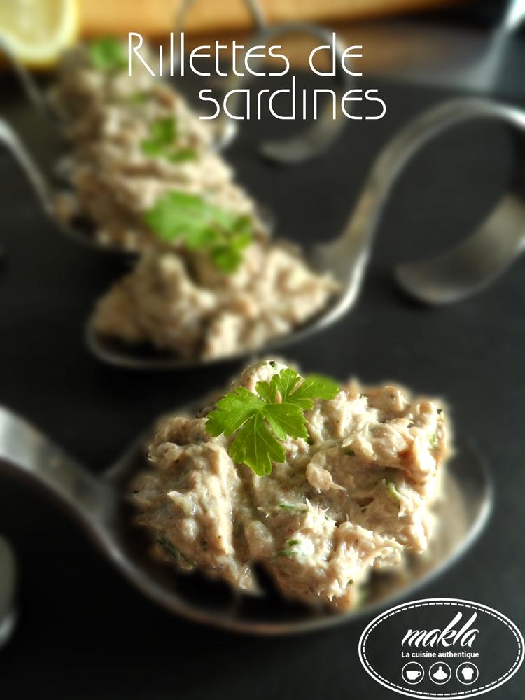 Read more about the article Rillettes de sardines