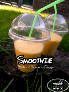 Smoothie | Pêche – Banane – Orange