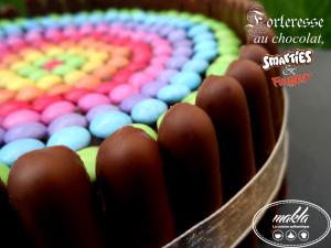 Forteresse au chocolat, Smarties et Finger