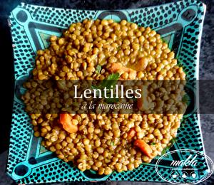 Read more about the article Lentilles à la marocaine