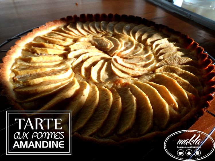 Read more about the article Tarte aux pommes amandine