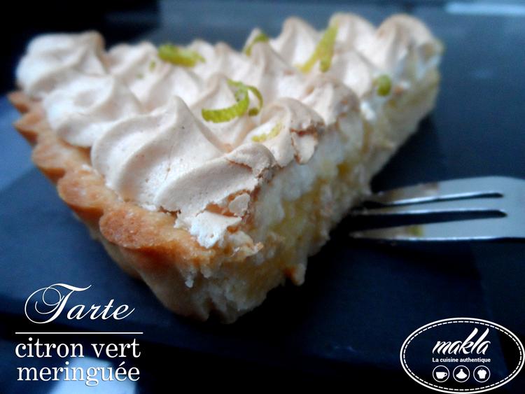 Read more about the article Tarte au citron vert meringuée