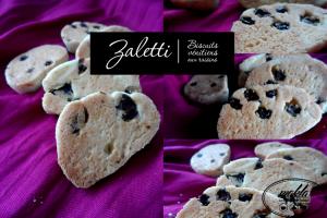 Zaletti – Biscuits vénitiens aux raisins