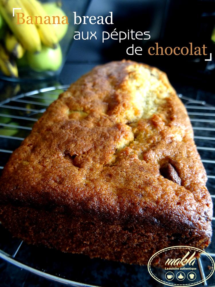 Read more about the article Banana bread aux pépites de chocolat