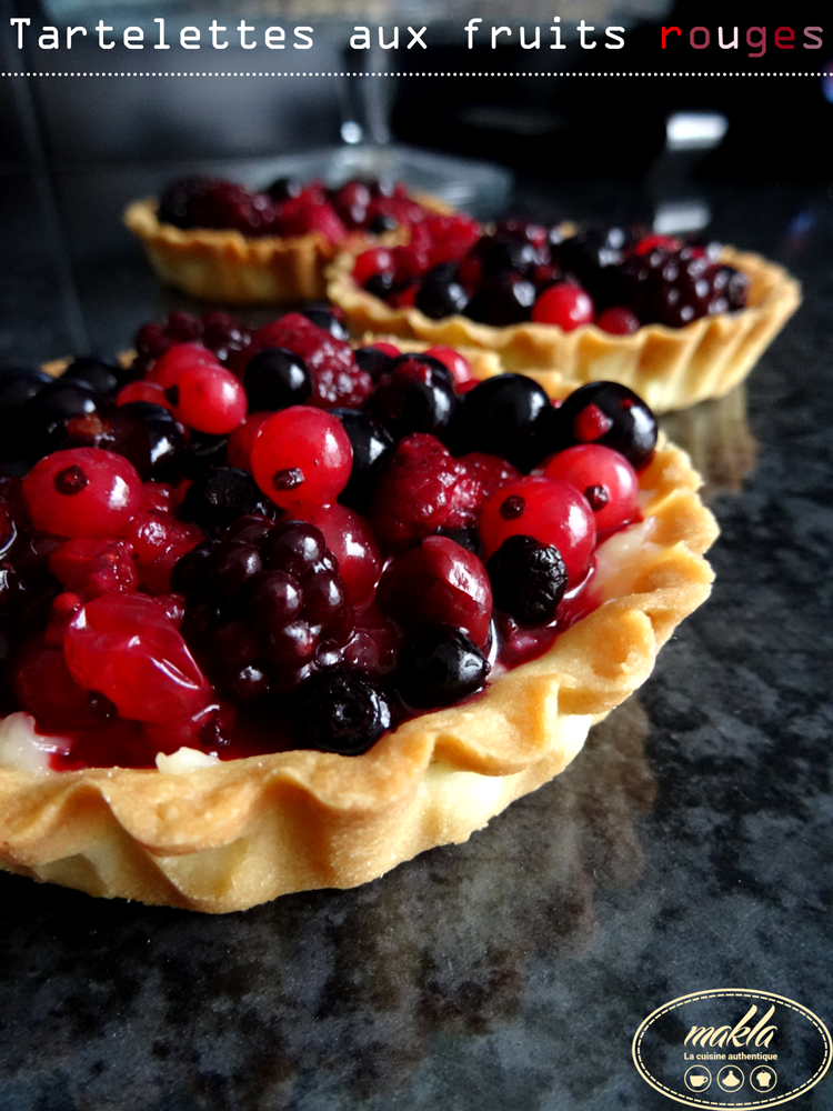 Read more about the article Tartelettes aux fruits rouges