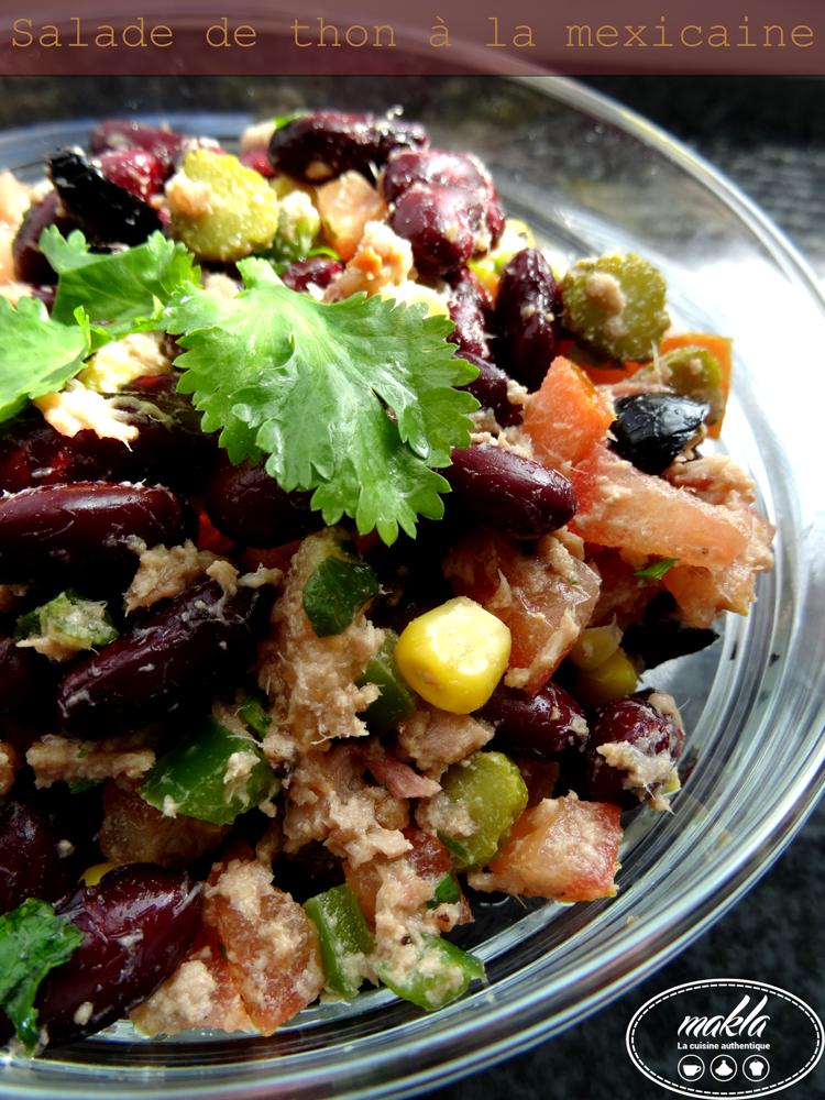 Salade de thon à la mexicaine