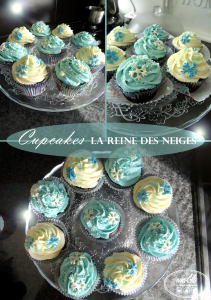 Cupcakes La Reine des Neiges