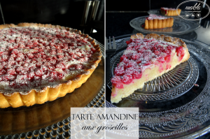 Read more about the article Tarte amandine aux groseilles