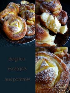 Read more about the article Beignets escargots aux pommes
