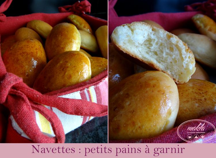 Read more about the article Navettes – Petits pains façon traiteur à garnir