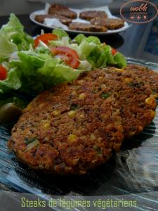 Read more about the article Steaks de légumes végétariens