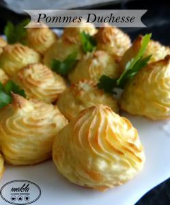 Pommes de terre duchesses maison