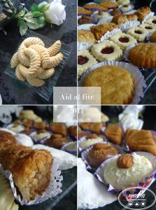 Read more about the article Aïd Al fitr | Mon assiette de pâtisseries
