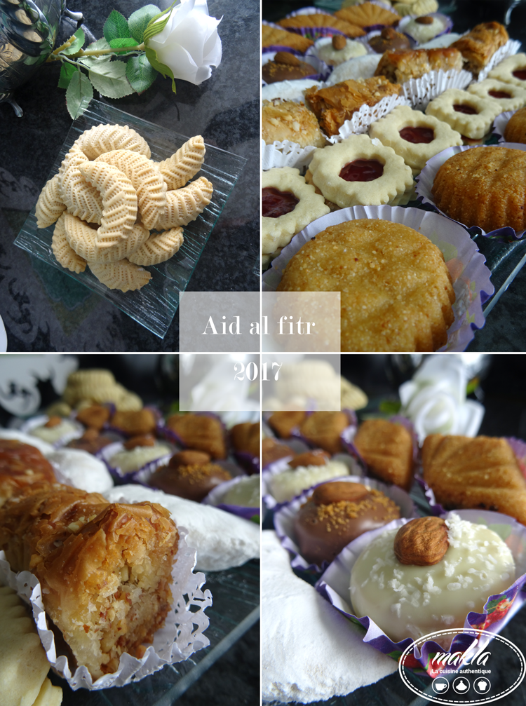 Aïd Al fitr | Mon assiette de pâtisseries