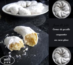 Read more about the article Cornes de gazelle au sucre glace