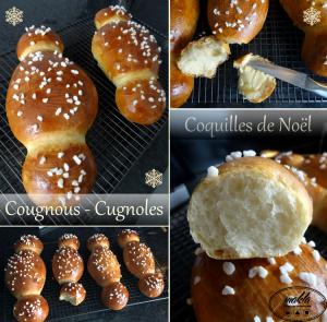 Coquilles de Noël – Cugnoles – Cougnous