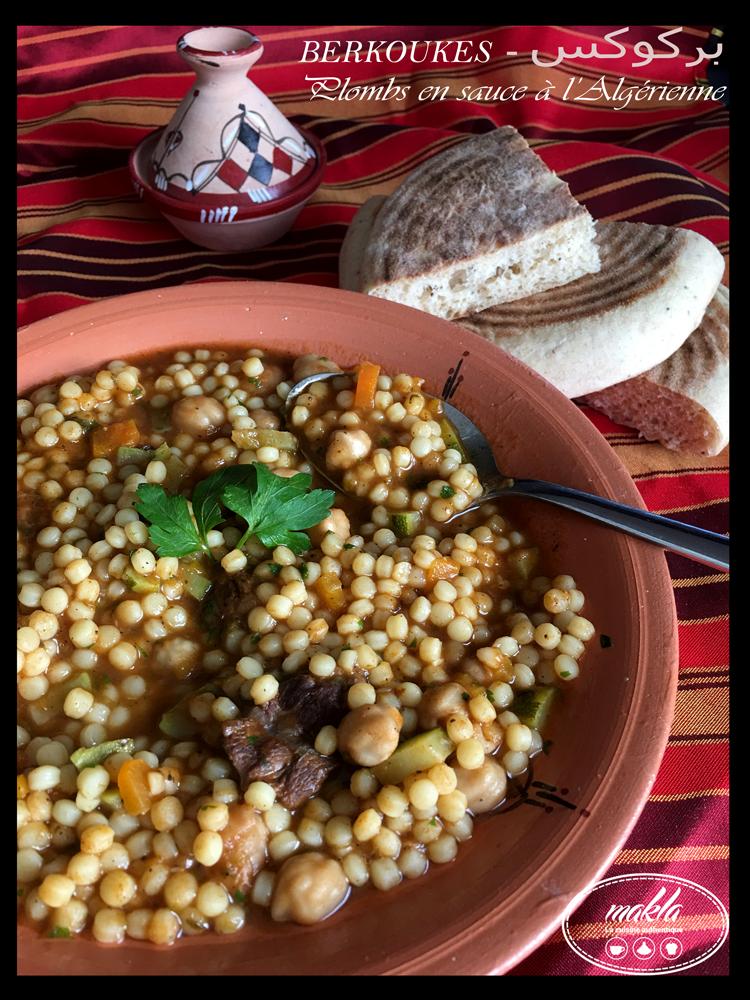 Berkoukes – Plombs en sauce à l'algérienne