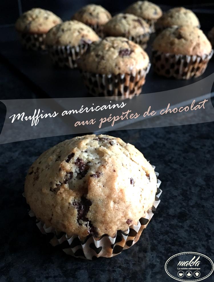 Read more about the article Muffins américains aux pépites de chocolat