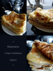 Read more about the article Msemmens – Crêpes feuilletées traditionnelles