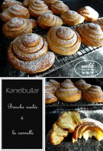 Kanelbullar – Petite brioche suédoise roulée à la cannelle