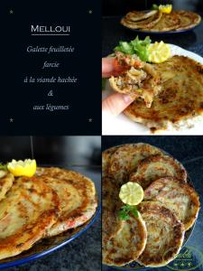 Read more about the article Melloui – Galette feuilletée farcie à la viande hachée et aux légumes