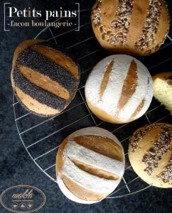 Petits pains façon boulangerie
