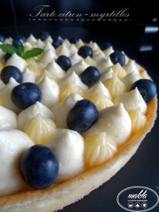 Read more about the article Tarte citron – myrtilles
