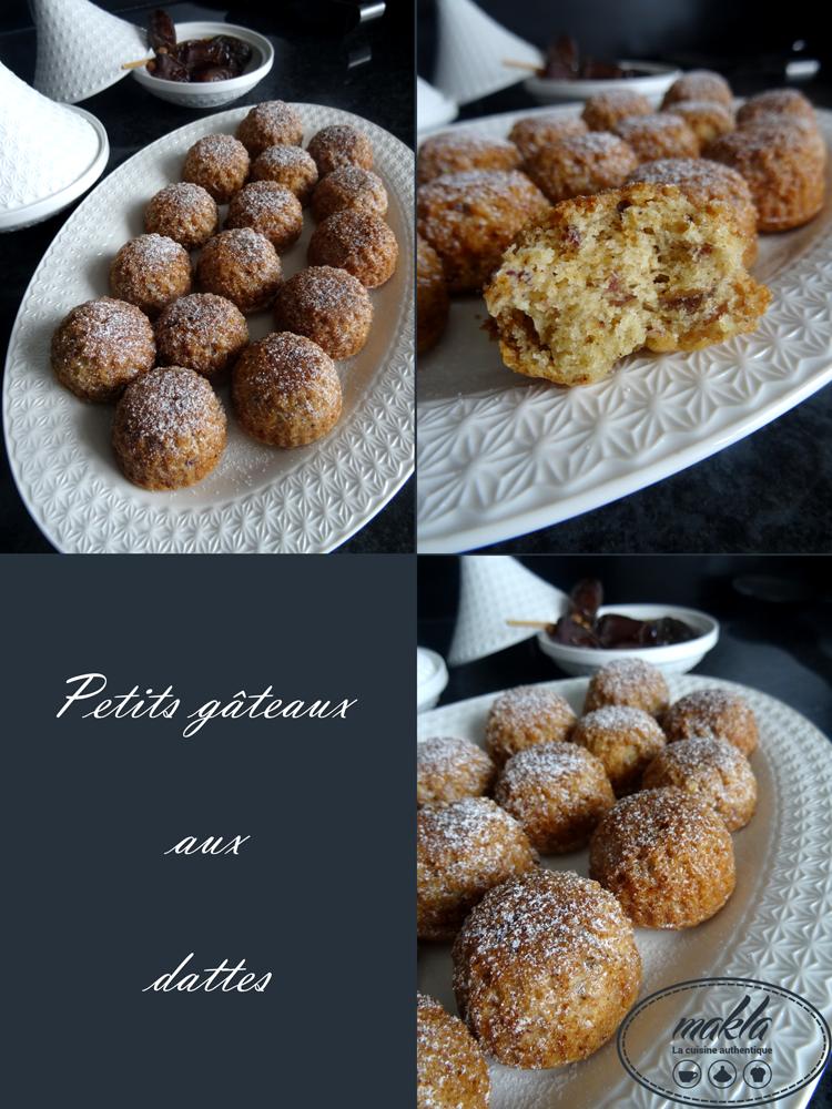Read more about the article Petits gâteaux aux dattes