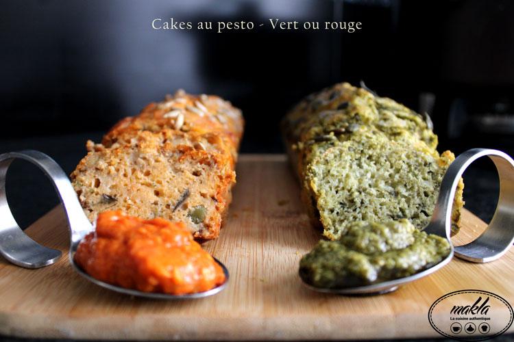 Read more about the article Cakes au pesto | Aubergine pesto rosso & Apinards pesto verde