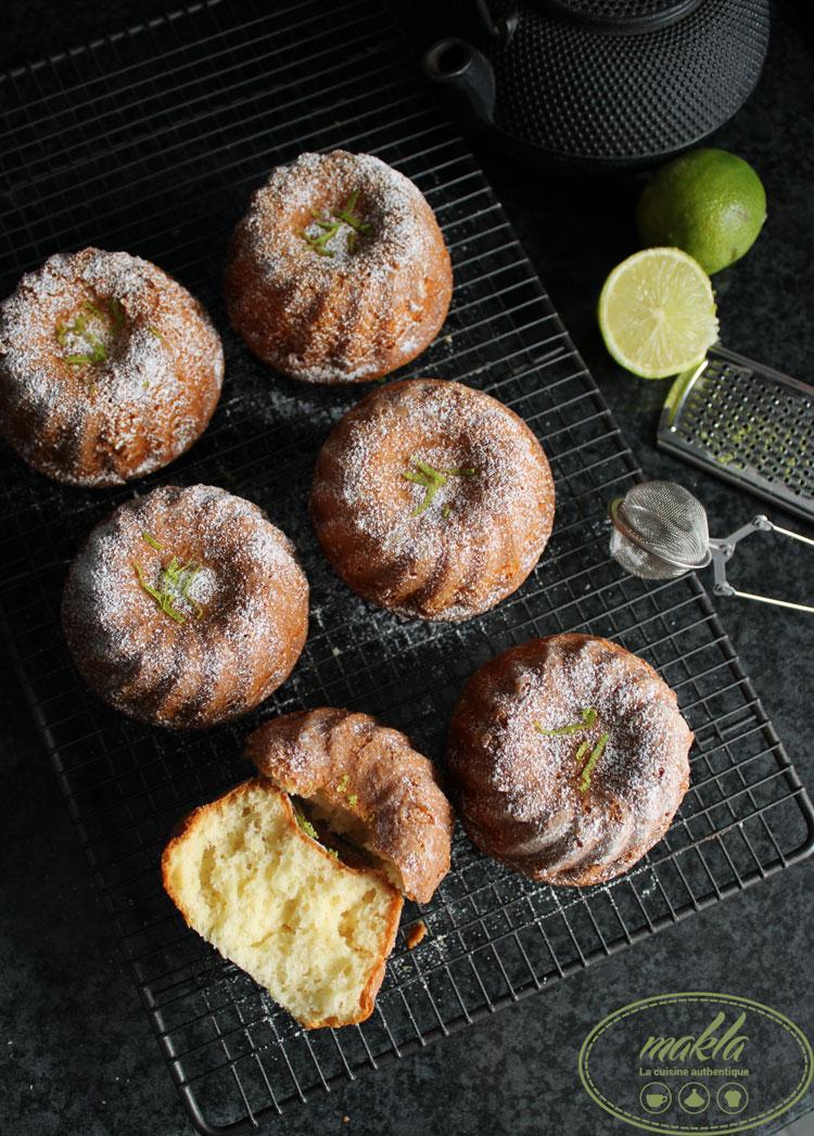 Mouscoutchou | Gâteaux moelleux au citron vert
