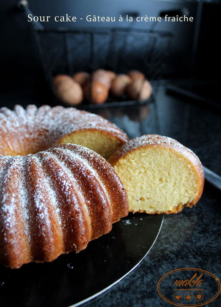 Read more about the article Sour cake | Gâteau à la crème fraîche