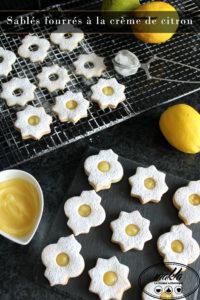 Read more about the article Sablés fourrés à la crème de citron