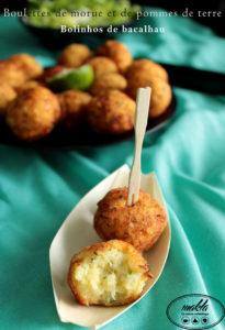 Read more about the article Croquettes morue et de pommes de terre | Bolinhos de bacalhau