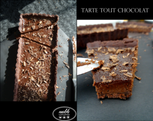 Read more about the article Tarte tout chocolat